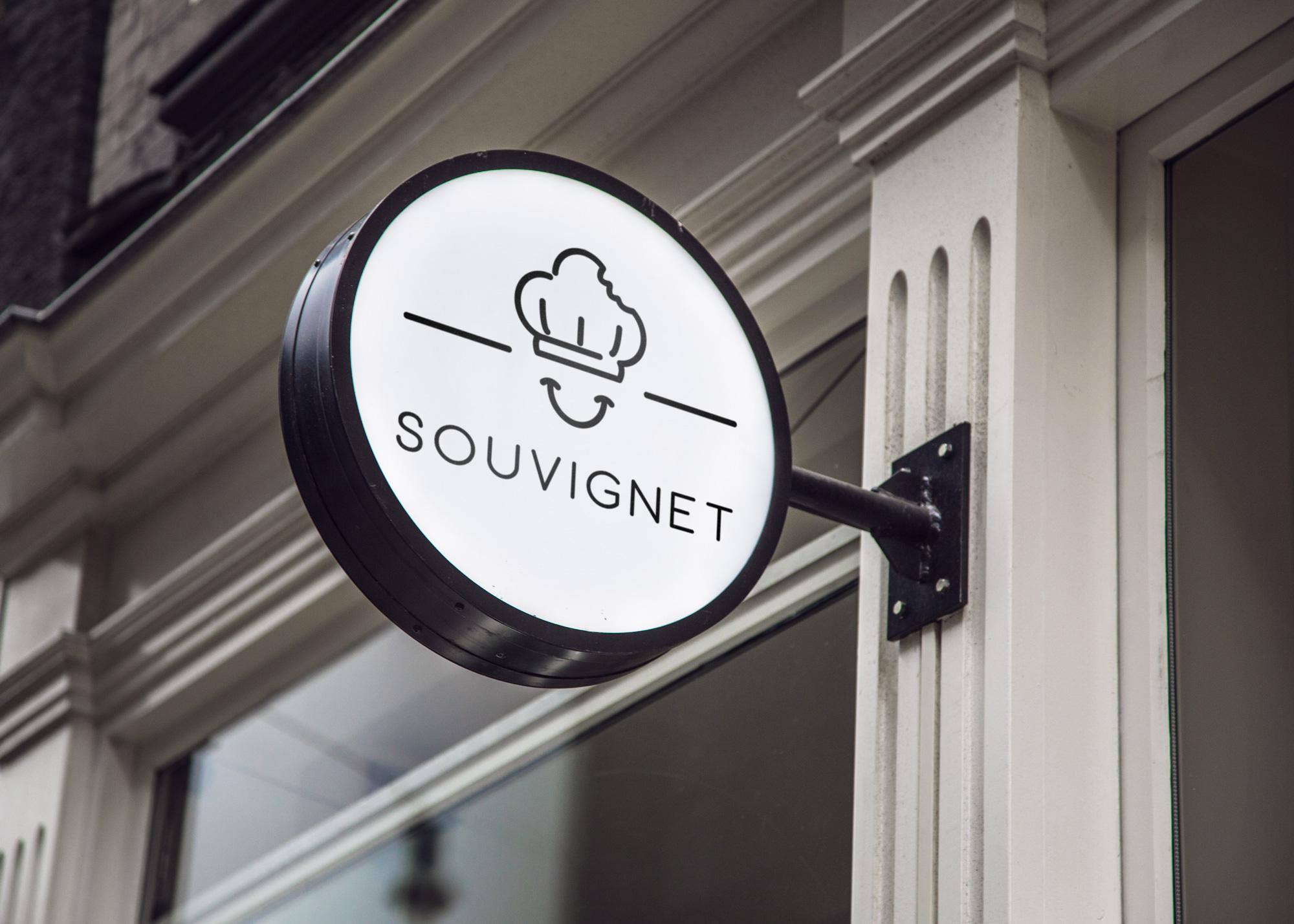 enseigne logo boulangerie pâtisserie souvignet